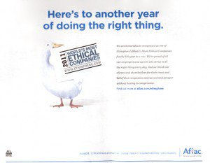 AFLAC ad