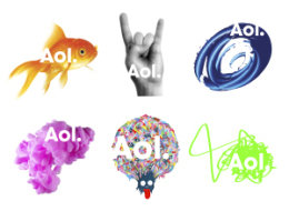AOL new logo design