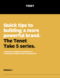 The Tenet Take 5 Series: Ebook