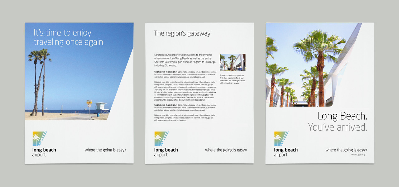 Long Beach Airport brochure