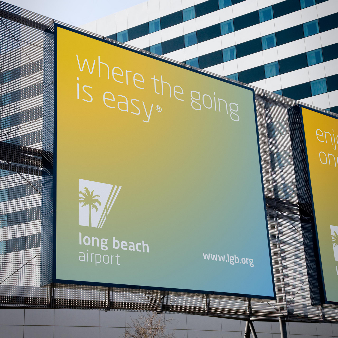 Long Beach Airport advertisement