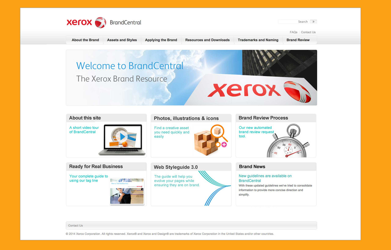 Xerox BrandCentral